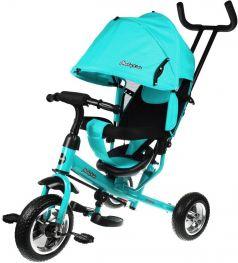 Детский велосипед Moby Kids Start 10x8 EVA, трехколесный (цвета в ассорт.)