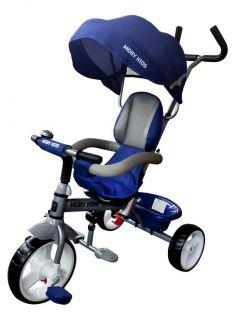 Детский велосипед Moby Kids 3в1 Blitz 10x8 EVA, трехколесный (цвета в ассорт.)