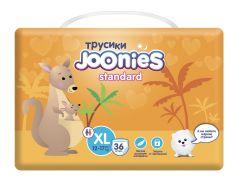 Подгузники-трусики Joonies Standard, размер XL (12-17кг), 36шт.