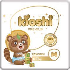 Трусики Кioshi Premium М (6-11 кг), 52шт.