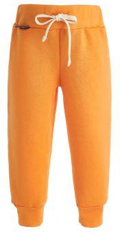 Брюки Bambinizon детские, из футера, оранжевые