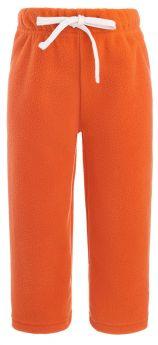 Брюки Bambinizon детские флисовые, оранжевые