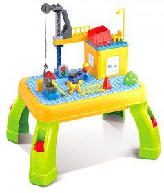 Стол для игры с конструктором Pituso, 53х40,5х28см, конструктор, 42 детали