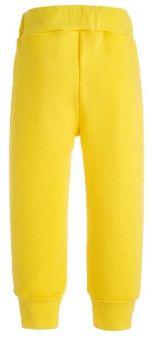 Брюки Bambinizon детские, из футера, желтые