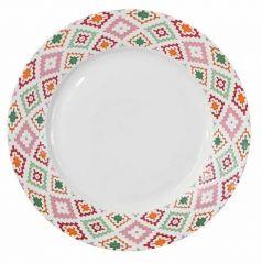 """Тарелка обеденная APOLLO """"Glaze Red"""", 26,9см"""