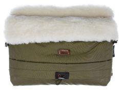 Муфта меховая для коляски Nuovita Alaska Bianco (цвета в ассорт.)