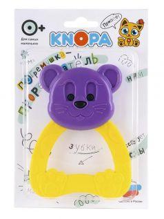 """Погремушка-прорезыватель KNOPA """"Мышонок"""" (цвета в ассорт.)"""