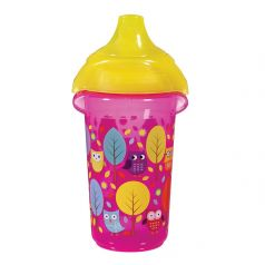 Поильник-чашка Munchkin Deco Sippy Click Lock с носиком, 266мл