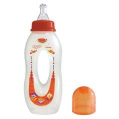 """Бутылочка Lubby """"Бублик"""" с силиконовой соской, 250мл"""