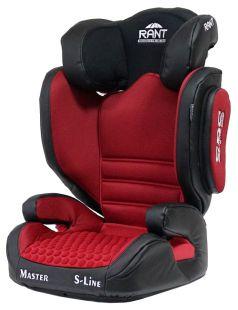 Автокресло Rant BH2311 Master Isofix SPS, красное, 15-36кг