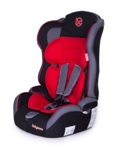 Автокресло Baby Care Upiter Plus Black/Red, 9-36кг