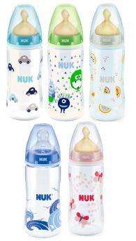 Бутылочка NUK First Choice Plus с латексной соской, 300мл