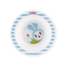 """Тарелка Lubby """"Малышарики"""", голубая, 200мл"""