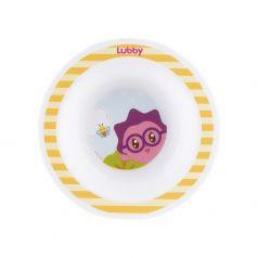 """Тарелка Lubby """"Малышарики"""", желтая, 200мл"""