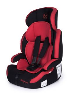 Автокресло Baby Care Legion Black/Red, 9-36кг