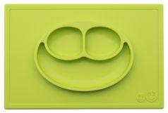 Тарелка-плейсмат Ezpz Happy Mat, силиконовая