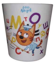 """Детский стакан Little Angel """"Три кота"""", 270мл"""