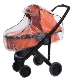 Дождевик для коляски Витоша с окном и светоотражающими элементами, универсальный