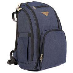 Сумка-рюкзак для мамы Rant Metro, синяя