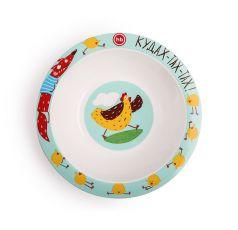 Тарелка глубокая Happy Baby Chicken для кормления
