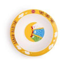 Тарелка глубокая Happy Baby Birds для кормления