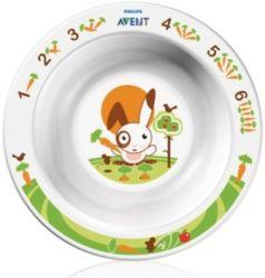 Глубокая тарелка Philips Avent SCF706/00 малая